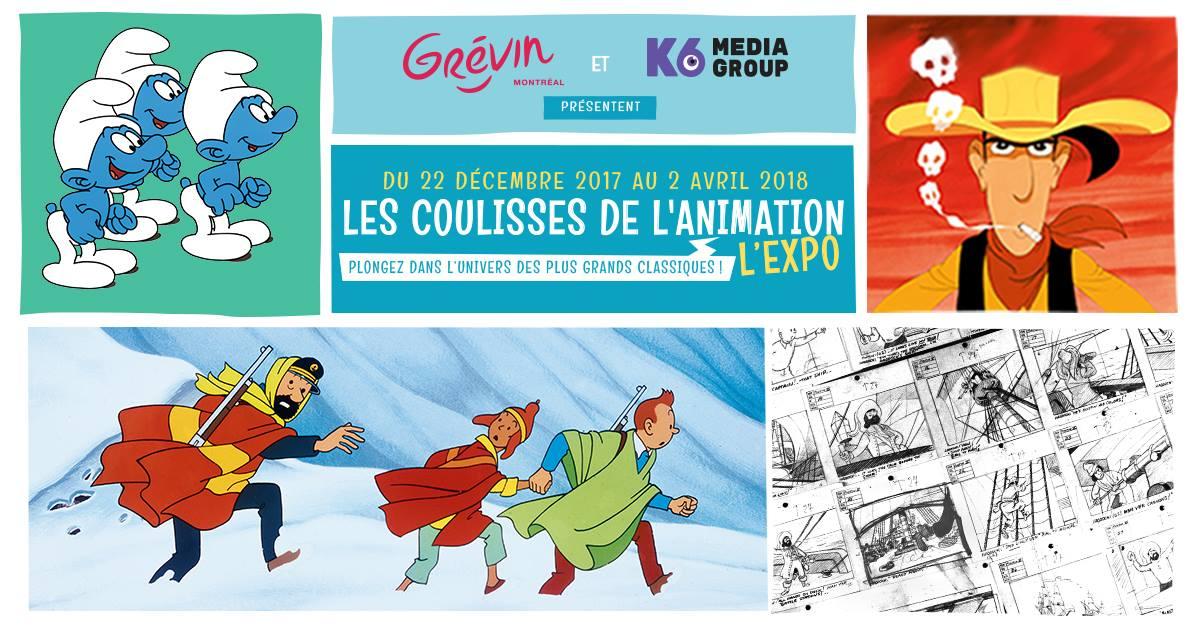 Les Coulisses de l'Animation - L'expo