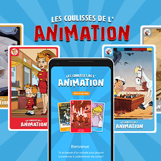 Application coulisses de l'animation