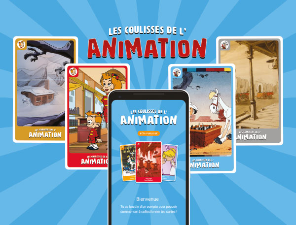 Les coulisses de l'animation application