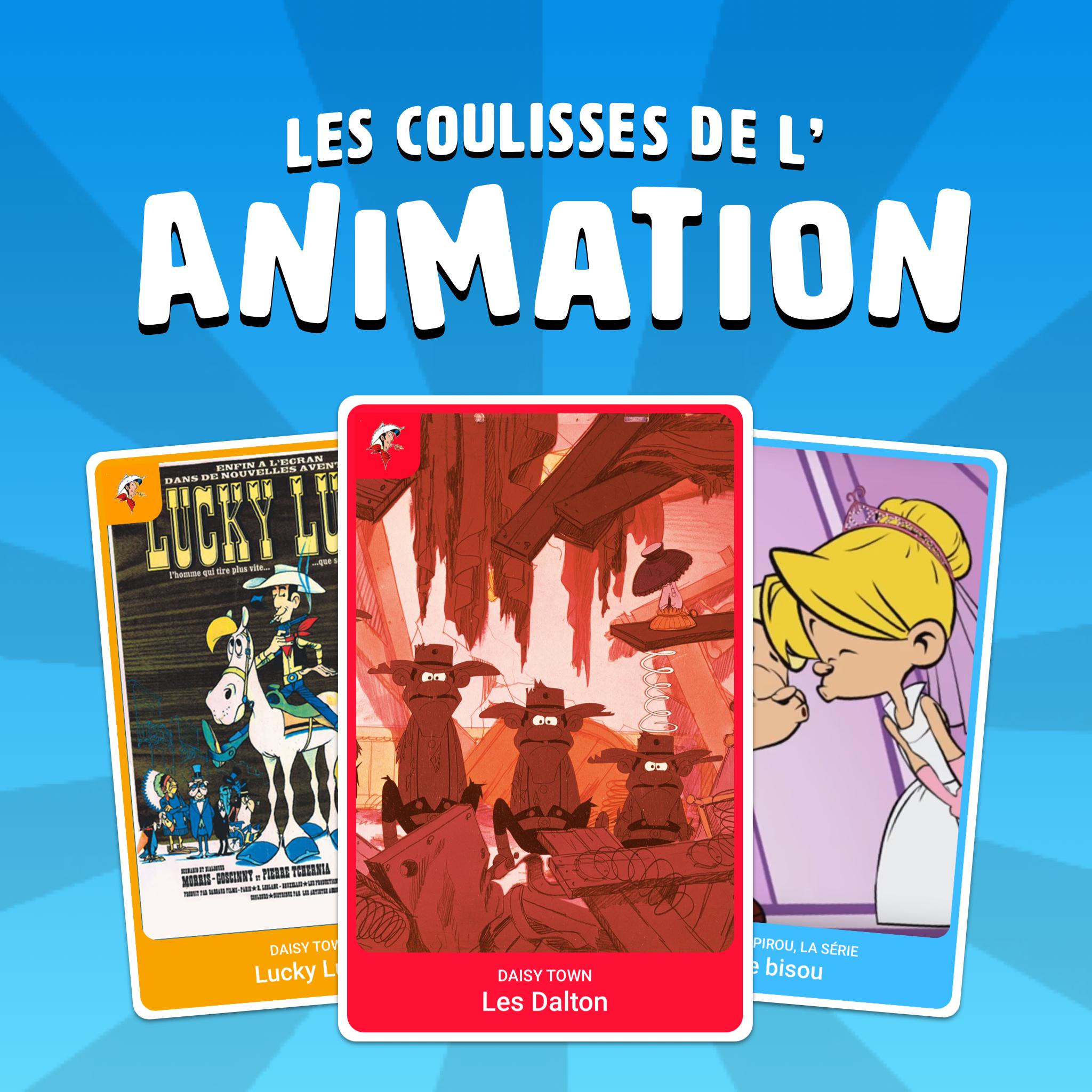Les Coulisses de l'Animation
